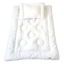 Kinderdecke Bettdecke Baby Set Ringe Kreise Steppbett + Kissen 100x135cm 40x60cm