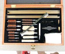 Universal Gun Cleaning Brush Set in Wooden Box Air Rifle Pistol Shotgun