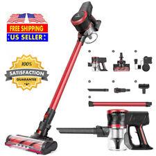 MOOSOO Cordless Vacuum Cleaner 17Kpa 10Kpa Suction 2 in 1 Stick Vacuum K17 Hot
