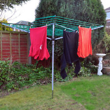Kingfisher Steel Rotary Washing Lines Horses