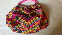 Women's Casual Handbags Totes Multi Color Black White Tie Dye Pattern T32