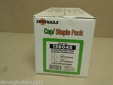 """Spotnails 136045 STAPLE PAC 7/8"""" 2000 CAPS AND STAPLES FOR TCS6832 CS150"""