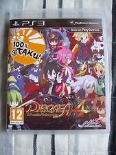 Disgaea 4 A Promise Unforgotten - PS3 - Nuevo - Precintado - Edicion España