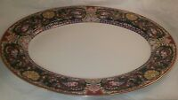 Muirfield Royal Paisley Oval Serving Platter 8931 by Kimberley McSparran