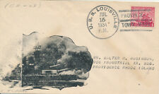 POSTAL HISTORY MILITARY NAVAL COVER - 1934 USS LOUISVILLE CA-28 PROVINCETOWN, MA