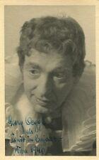 GEORG OEGGL - orig. Autogramm - Wien 1940, Bajazzo, Opernsänger, Bariton
