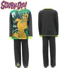 Scooby Doo Enfants Maison hantée Coton Pyjamas À Manches Longues Haut et Bas