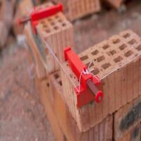 1Pair Brick Liner Runner Leveling Messwerkzeuge für Maurer Engineering P9K4