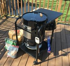 (1) Weber Smokey Mountain BBQ smoker cart_Bullet Truck  ***Limited Qty.  93***