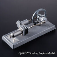 DIY Hot Air Stirling Engine Motor Model Educational Toy Electricity generator