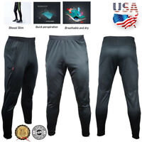 Men's Sport Athletic Soccer Fitness Training Running Casual Pants Sweat Trousers