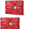 NEW 2019 Callaway Chrome Soft Graphene Dual Core One Dozen 4 piece Golf Balls