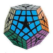 Black Shengshou 2-layered Kilominx Polygonal Megaminx Magic Cube Twist Puzzle
