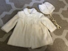 New listing Vintage 1960's Child'S Coat & Hat Furry Union Made U.S.A. 24 Mos.