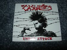 CASUALTIES Under Attack CD Punk/Oi/GBH/Total Chaos/Rancid/Exploited/Unseen