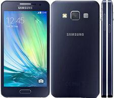 "Original Samsung Galaxy A3 SM-A300FU - 16GB Black (Unlocked) Smartphone 4.5"" GSM"