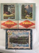 Vintage Tuco Picture Puzzles. Lot Of Three.