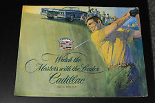 Watch the Masters with the Leader Cadillac 1971 Sales Literature Book