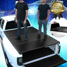 For 05-11 Dakota 06-08 Raider 6.5FT Short Bed Hard Solid Tri-Fold Tonneau Cover
