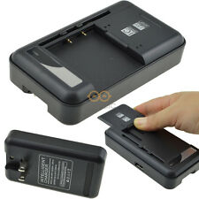Black Universal Wall Battery Charger For Samsung Galaxy Series Cell Mobile Phone