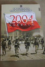 Winning the battles in the history of Poland Tom 53 Karbala - 2004 Polish Book