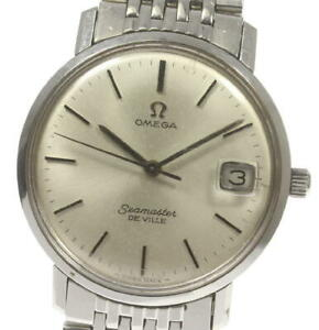 OMEGA Seamaster De Ville antique Silver Dial Hand Winding Men's Watch_568291