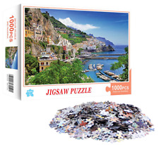 Jigsaw Puzzle 1000 Piece BRAND NEW SEALED Adults & Kids Toy- European Cityscape