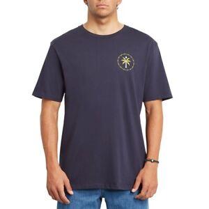 Volcom mns T-Shirt Serenic Stone - navy - Neu & OVP
