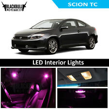 Pink LED Interior Lights Replacement Kit for 2005-2007 Scion TC 7 bulbs