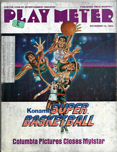 PLAY METER Magazine Nov 15 1984 - Arcade Video Game Playmeter
