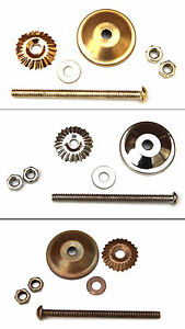 Knobbles and Bobbles Metal fitting for Cermic Knobs
