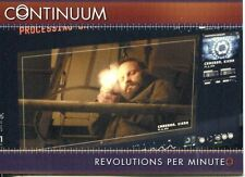 Continuum Season 3 Gold Parallel Base Card #99 Revolutions Per Minute