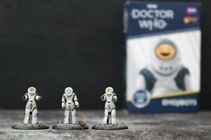 Doctor Who Emojibots expansion set Warlord Games with well painted miniatures
