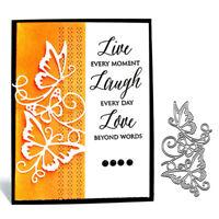Lace Butterflies Dies Metal Cutting Scrapbooking Embossing Paper Card Album DIY