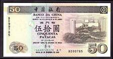 Macao. 50 patacas de, BD 99785, 20-12-1999, Casi Universal-Universal.
