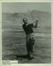 1967 Press Photo Golfer Fred Hawkins - nos14765