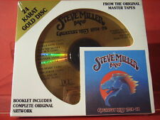 """DCC GZS-1103 STEVE MILLER """" GREATEST HITS """" (24 KT GOLD COMPACT DISC/SEALED)"""