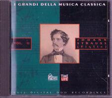 CD HOBBY & WORK - I GRANDI DELLA MUSICA CLASSICA  - J. STRAUSS (figlio) VOL. 2