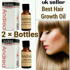 2×pcs Most effective ANDREA-Asia's no1 Hair growth serum oil 100%natural extract