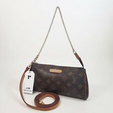 Authentic Louis Vuitton Eva Clutch Monogram M95567 Genuine Hand Clutch Bag LC175