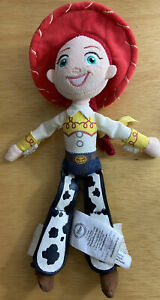"Disney Pixar Toy Story Jessie Cowgirl Bean Bag Plush Doll 11"" Disney Store"