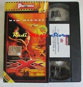 film VHS XXX VIn Diesel  Asia Argento  cartonata PANORAMA 2002 ( F21**)