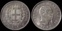 pci897) Regno Vittorio Emanuele II  lire 1 stemma 1863