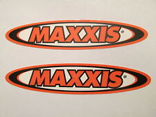 Two Maxxis Tires Motocross  Dirtbike Racing Swingarm Decal Graphic Sticker