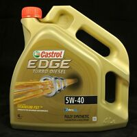 Castrol EDGE TITANIUM FST 5W-40 TURBO DIESEL  4 Liter