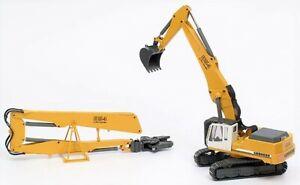 "Conrad 2907.13 Liebherr R 954 BV Demolition Excavator Metal Tracks 1:50 ""NEW"""