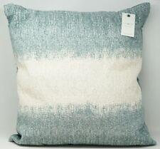 "Lucky Brand Ombre Texture 100% Cotton 22"" x 22"" Decorative Pillow - Mint"