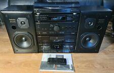 Technics Stereo HiFi Separates Stack System Amp, CD, Cassette, Tuner, Turntable