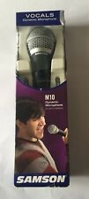 Samson Model M10 Vocals Dynamic Microphone W/ 16' Low Noise Mic Cable