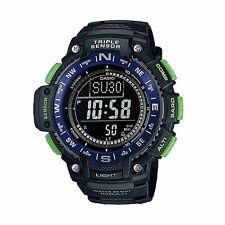 Casio Triple Sensor Watch, Compass, Thermometer, Altimeter, 5 Alarms, SGW1000-2B